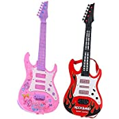 Combo Of Musical Guitar With Pop Music (Multicolor)
