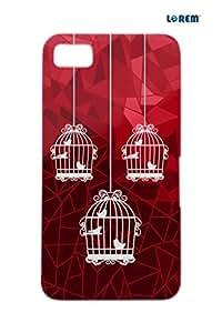 Lorem Back Cover For BlackBerry Z10-Red-L25012