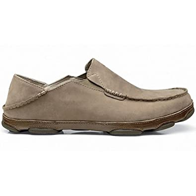 Buy Mens Olukai Moloa Shoes Dark Java Toffee by OluKai