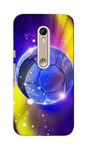 CimaCase Football Designer 3D Printed Case Cover For Motorola Moto X Style