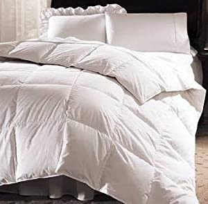 Royal Hotel Collection 300TC 50oz White Goose Down Comforter 750 fill power, King size