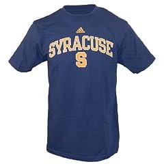 Buy Syracuse Orangemen Adidas Navy In Play T-Shirt (Size Medium) by adidas