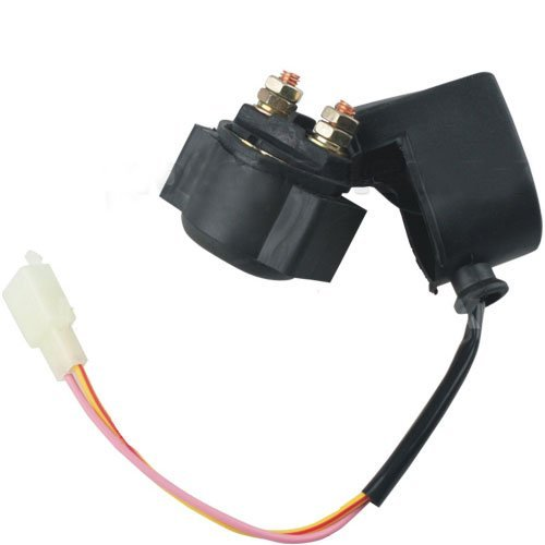 X-PRO Starter Relay SOLENOID for 4-stroke GY6 Engine 50cc 70 cc 90cc 110 cc 125cc 150 cc 200cc 250 cc ATV Dirt Bikes Scooters Go Kart Dne Buggys Quad 4 Wheelers (50cc Chinese Atv Starter Relay compare prices)