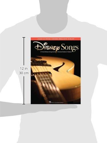 Disney Songs: Jazz Guitar Chord Melody Solos