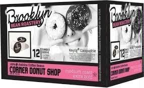 Brooklyn Bean Roastery K-Cup Coffee - Corner Donuts - 12 ct by Brooklyn Beans