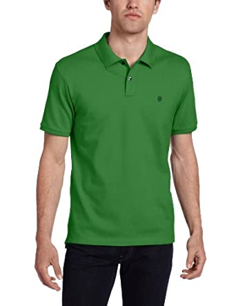 Victorinox Men's VX Stretch Pique Polo, Bio Green, Small