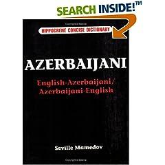 Azerbaijani: English-Azerbaijani/Azerbaijani-English