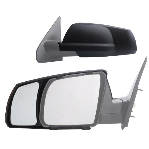 Buy Bargain Fit System 81300 Snap-on Black Towing Mirror for Toyota Tundra/Sequoia - Pair