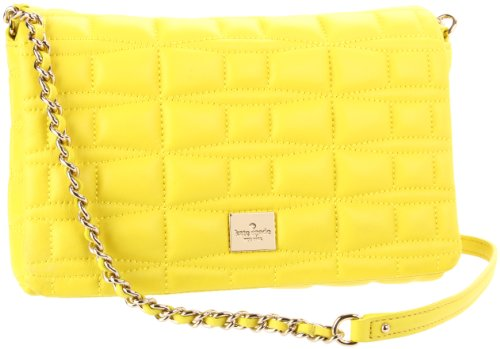 Cheap Kate Spade New York  Signature Spade Leather Brianne Quilted Cross Body