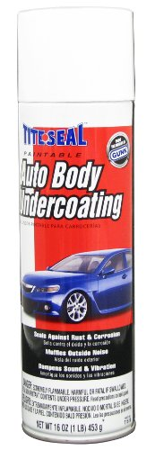 Tite Seal T1616-12PK Paintable Auto Body Undercoating - 16 oz., (Case of 12)