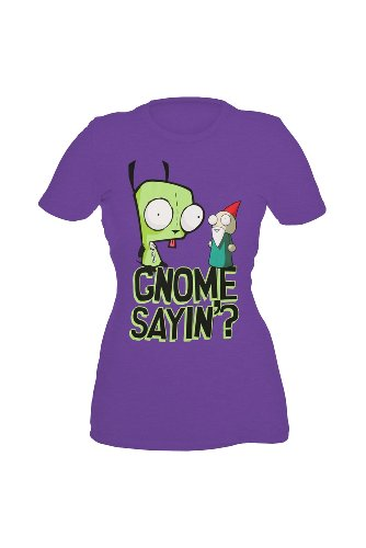 Invader Zim Gir Gnome Girls T-Shirt