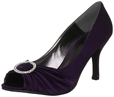 Lunar Women's Flv132 Purple Special Occasion Heel 3 UK, 36 EU