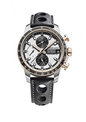 Chopard men's Grand Prix watch titanium and rose gold. 168570-9001