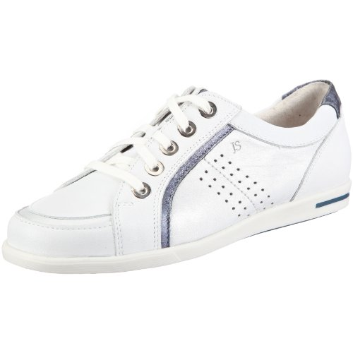 Josef Seibel Women's Hilda White-Blue Comfort Lace Up 77407 6 UK