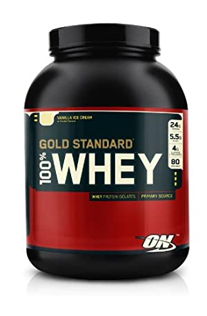 Optimum Nutrition 100 Whey Gold Standard Vanilla Ice Cream 5