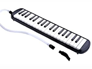 D'Luca M37-BK 37 Key Melodica with Case,