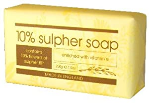 200G 10% Sulphur Soap