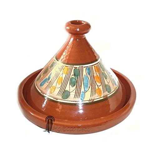 Tajine marocain Berbere - Plat a Tagine 25 cm