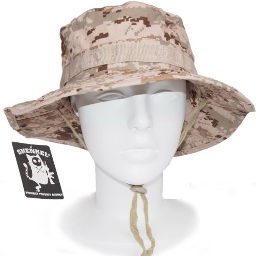 USMC desert may pixel Brown BNI Hat jungle hat one size camouflage SHENKEL  made by Pat 7f5aa1900e88