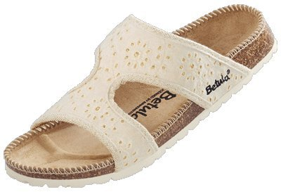 Cheap Betula slippers Sheyla in size 39.0 N EU made of Textile in Golden Cotton with a narrow insole (B005OIA5LM)