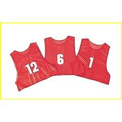 Champion Sports Adult Numbered Practice Vest, ( 1 dozen) by Champion Sports