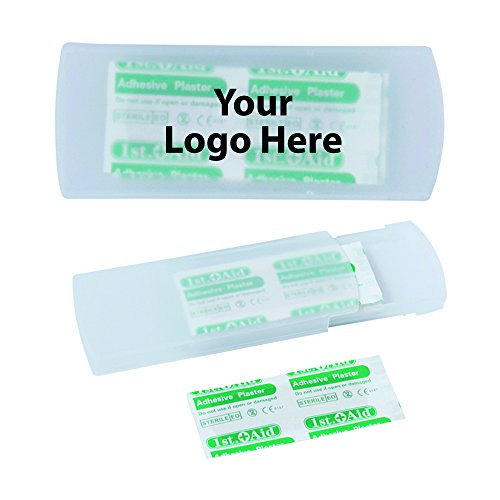 Bandage Carrier - 250 Quantity - $1.10 Each - PROMOTIONAL PRODUCT / BULK / BRANDED with YOUR LOGO / CUSTOMIZED (First Aide Container compare prices)