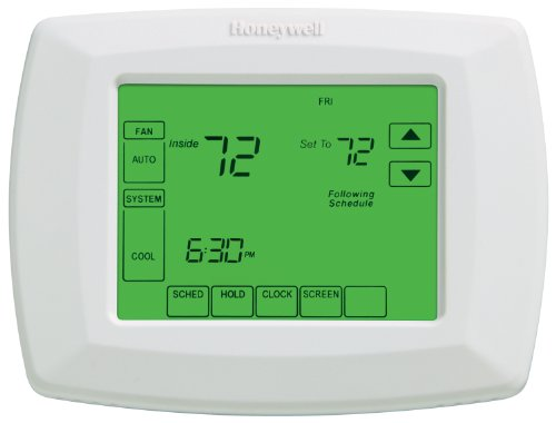 Honeywell RTH8500D 7-Day Touchscreen Programmable Thermostat (Wifi Thermostat Heat Pump compare prices)