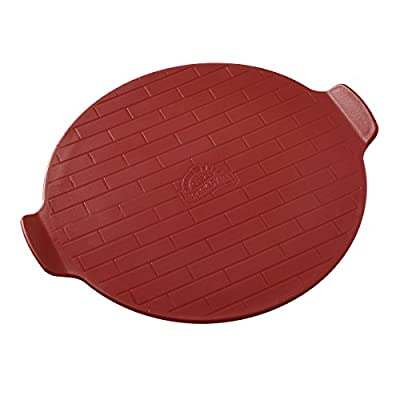 Brick Oven Plastic Pizza Cutting Board (16-Inch, Brick)