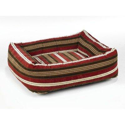Dutchie Dog Bed in Bowser Stripe Size: Medium (25