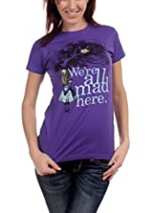 Juniors T-Shirt -Alice in Wonderland - We