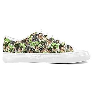 Aneozap Custom Star Wars Women's Nonslip Canvas Shoes Fashion Sneakers,White