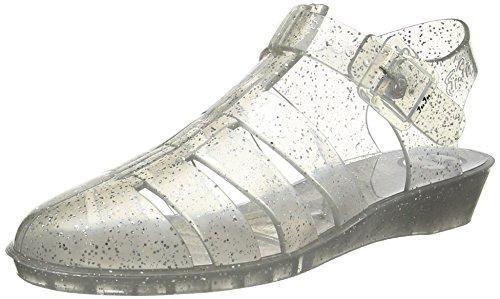 JuJu ShoesTINKERBELLE - Sandali donna , Trasparente (Transparent (Multi Glitter)), 43