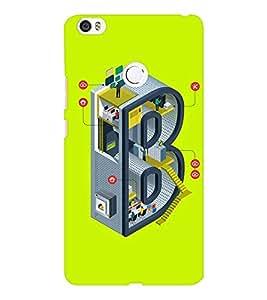 EPICCASE Complex B Mobile Back Case Cover For Xiaomi Mi Max (Designer Case)