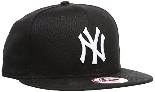 New Era - Cap MLB 9fifty NY Yankees, Baseball Beretto unisex, Black, Large (Taglia produttore: Medium/Large)