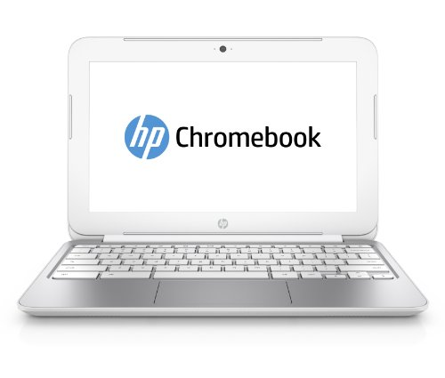 HP 11-2010nr 11.6-Inch Chromebook (Snow White)