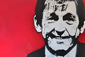 Kenny Dalglish Liverpool Handsprayed Canvas Art Picture Framed 75 X 50cm from Art By People