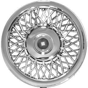 CCI IWC1215 15 Inch Clip On Chrome Finish Hubcaps - Pack of 4
