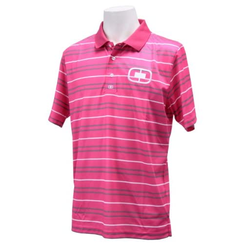 (オジオ)OGIO メンズ 半袖ポロシャツ 764605 PK ピンク L