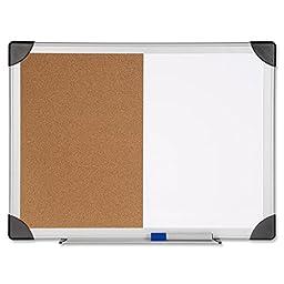 Lorell - Combo Board, Erase/Bulletin, 18\
