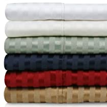 MALOUF FINE LINENS 300TC Cotton Blend Deep Pocket Bed Sheets Set