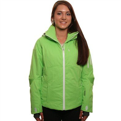 Nils Women'S Tricia Jacket In Limeade / White - Size 12