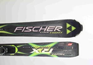 Used Fischer Cool Heat Advanced Ski with Binding 165cm C