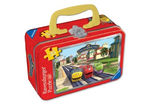 Chuggington 3 Great Trainees 35-Piece Puzzle in a Tin - 1