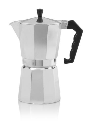 Primula Stove-Top Espresso Maker, Aluminum, 9-Cup