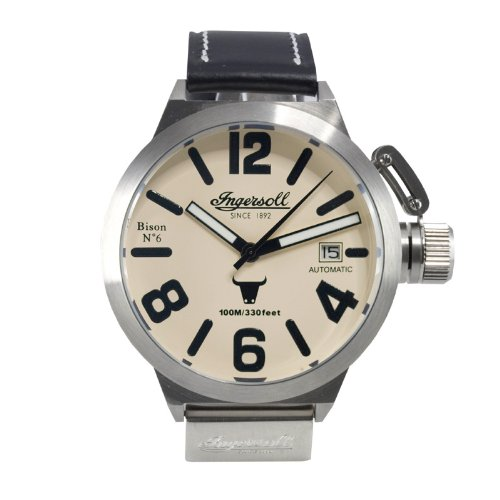 Ingersoll IN8900SCR Bison No.6 Stainless Steel Men's Watch