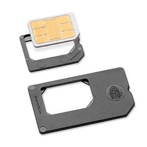 Nano Micro Sim Set pour iPhone 5 2 x Adaptateur Nano-SIM Micro Sim du Nano Sim a la Sim Micro Sim , du Nano Sim à la SIM normale (4FF to 3FF /4 FF to 2 FF Format) pour iPhone 5 Fabriqué en Allemagne awolkin®