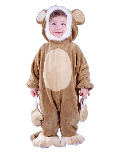 Baby-boys - Cuddly Monkey Toddler Costume Halloween Costume