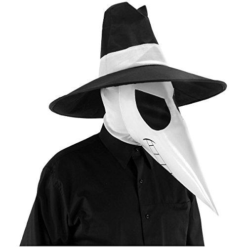 [GSG Spy Vs Spy White Accessory Kit Costume Teen Mens MAD Magazine Halloween] (Cabaret Costumes For Men)