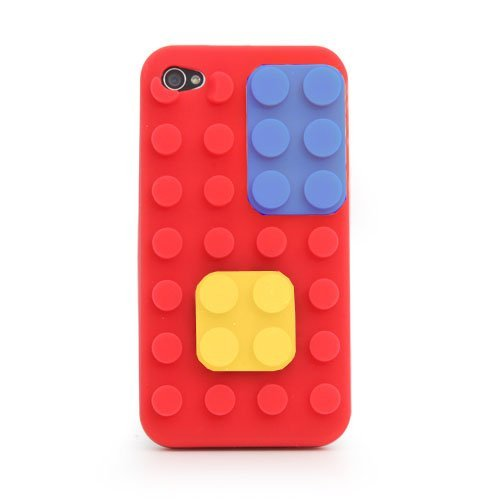 Thumbs Up Uk Colour Block Case For Iphone 4 - Carrying Case - Retail Packaging - Red