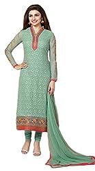 Sree Impex Pure Georgette Semi Stitched Salwar Suit Designer Dress Material